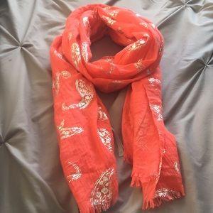 Cute orange scarf